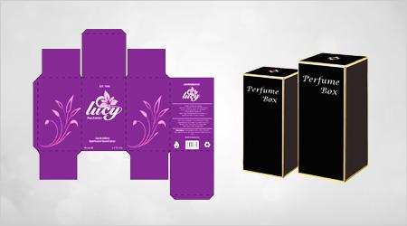 perfume box, perfume box manufacture