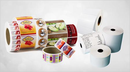 label production, label production, label printing, thermal label production, thermal label manufacturing, thermal label printing